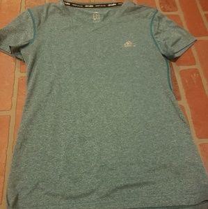 Adidas Climalite Blue Short Sleeve Shirt